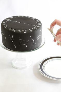 Zodiac Constellation Cake Recipe