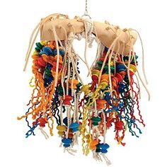 Save big on this Flying Jewels - Multi-textured Parrot Toy - Large, was £59.99, now only £39.99.