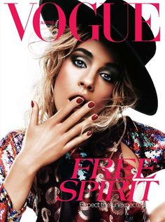 Vogue Australia April 2012, Julia Frauche