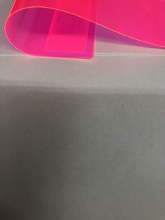 Pink Marine PVC Tinted Plastic Vinyl Fabric