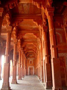 Fatehpur Sikri...Red stone fort