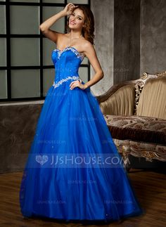 Prom Dresses - $169.99 - Ball-Gown Sweetheart Floor-Length Satin Tulle Prom Dress With Lace Beading Sequins (018043782) http://jjshouse.com/Ball-Gown-Sweetheart-Floor-Length-Satin-Tulle-Prom-Dress-With-Lace-Beading-Sequins-018043782-g43782?snsref=pt&utm_content=pt