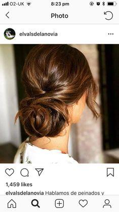 Brown Hair Inspiration, Hair Dos, Instagram, Hair Styles, Wedding, Fashion, Hair, Weddings, Hairdos