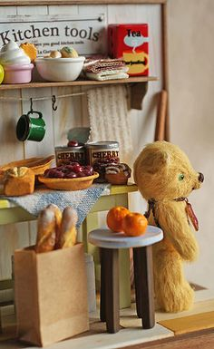 ♡ ♡ bear in the kitchen 3 | Por: La Cocina Alegre / tomohachi |