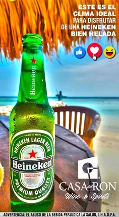 El verano ya se siente! Disfrútalo con Heineken y Casa del Ron #Summer2017 #Heineken #Verano