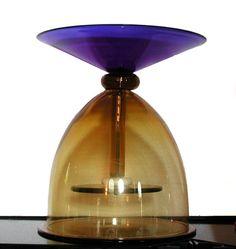 Ettore Sottsass, Glass sculptures for Venini, 1994, Italy. #erastudioapartmentgallery #erastudio #deisgngallery #collectibledesign #design #gallery #milan #italy #ettoresottsass #ceramic #glass #italiandesign #historicaldesign #interior #glasssculpture #nineties #venini #jar
