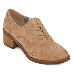 Pop Moment Lace-Up Oxfords - JCPenney