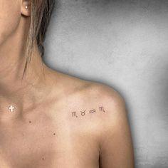 Mädchen Tattoo, Bff Tattoos, Family Tattoos, Little Tattoos, Cute Tattoos, Body Art Tattoos, Hand Tattoos, Small Tattoos, Tatoos