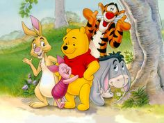 How to Explain Sensoy Processing to Parents - Tigger is the sensory seeker, Eeyore is the sensory avoider, Rabbit is the over-responder.  Winnie the Pooh is where we want our kids to end up - calm, alert, and ready to participate