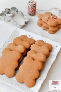 Polish Recipes, Polish Food, Vegan Recipes, Cooking Recipes, Sweet Bakery, Cookie Box, Food Photo, Gingerbread Cookies, Food And Drink