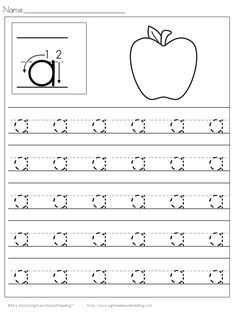 Help your child learn to writing with these free Preschool Handwriting Practice worksheets. Download the entire alphabet at one time.