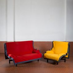 """1stdibs.com   """"Sindbad"""" Armchair by Vico Magistretti for Cassina"""