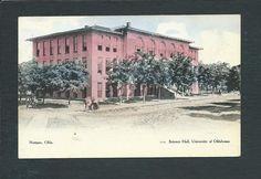 Norman OK Oklahoma University of Oklahoma Science Hall Postcard