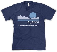 Alaska Adventure t shirt funny state shirt vintage Alaska tee