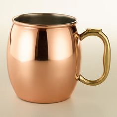 One of my favorite discoveries at WorldMarket.com: Moscow Mule Mug
