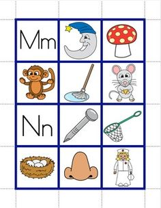 Pocket Chart Pictures- Early Literacy