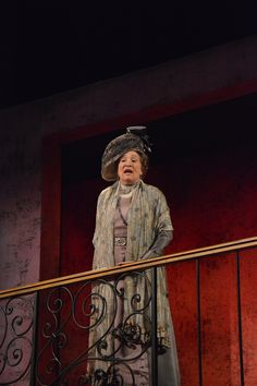 Sharon Lockwood at the Pygmalion dress rehearsal. Photo by Jay Yamada.