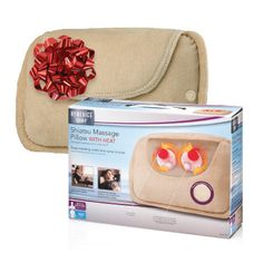 Yes, you *can* squeeze in a massage.  This Heated Shiatsu Massage Pillow will be just what you need to relieve tension and unwind!