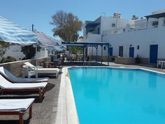 Hotel Thirasia || Thirasia Hotel is a quiet, family-run hotel located in Santorini, island of Cyclades, in Fira town.
