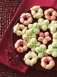 Get Spritz Cookies Recipe from Food Network