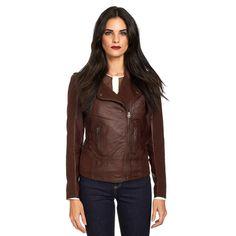 Asymmetrical Jacket Bordeaux