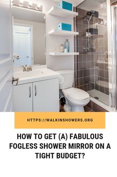 How To Get (A) Fabulous Fogless Shower Mirror On A Tight Budget?