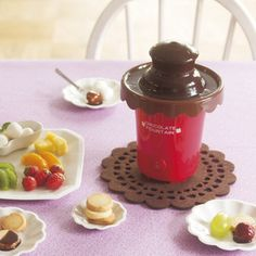 Home chocolate fountain maker