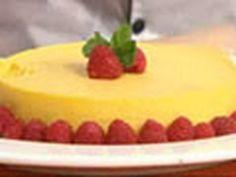 Pastel helado de mango - Mango Ice Cream Cake - YouTube