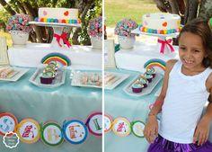 Fara Party Design: Fiestas- Arcoiris