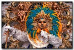 mask & feathers