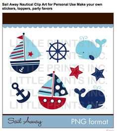 K.I.S.S. {Keep It Simple, Sister}: Oh buoy, hes one! {whales and sails birthday party}