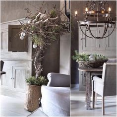 WLS Hoffz Merry Little Christmas, Merry Xmas, Interior And Exterior, Interior Design, Christmas Preparation, Pretty Room, Living Styles, Rustic Chic, Sweet Home