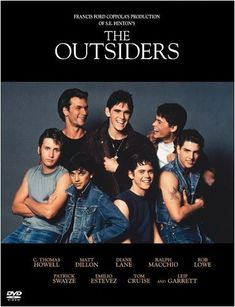 The Outsiders....love this book so much I kept the one we read in school!