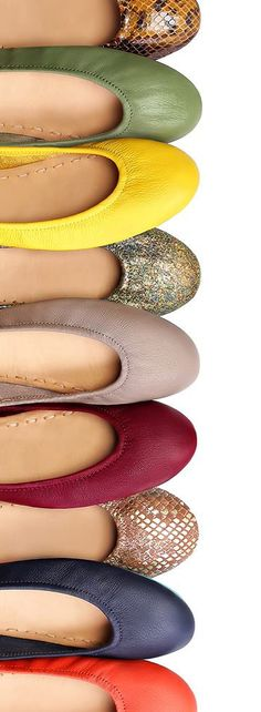 These fall shades are the perfect addition to any wardrobe! | Tieks Ballet Flats