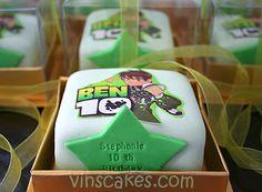 Ben 10 mini cake