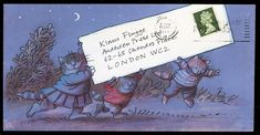 'Letters to Klaus': A Publisher Shares His Illustrated Correspondence - I WANT this book! So cute, and creative!