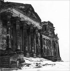 Reichstag Building in Snow (1948)