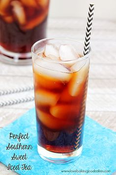 Perfect Southern Sweet Iced Tea
