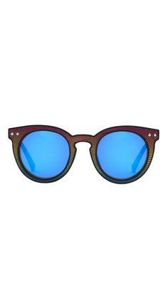 f0975735763 Patti Acetate Injected Plastic Round Sunglasses