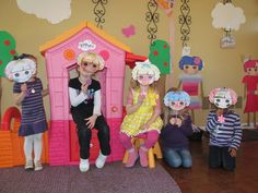 lalaloopsy party.... design your own loopsy masks