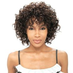 Model Model Cocktail Synthetic Half Wig - Pink Lady-P1B/530 . $20.99