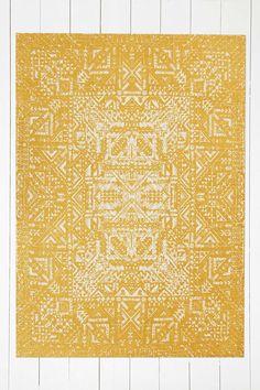 Izmir Maze 5x7 Gold Rug