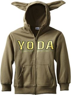 Pull On a Hoodie And Look Like Yoda  Omg if you love me ;D get me this for xmas <3 Love it!
