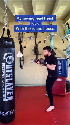 Boxing Training Workout, Taekwondo Training, Mma Workout, Kickboxing Workout, Calisthenics Workout, Gym Workout Videos, Taekwondo Moves, Techniques D'autodéfense, Taekwondo Techniques