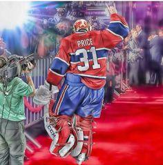 X Montreal Canadiens, Cary Price, Hockey Room, Hockey Memes, Ice Hockey, Pencil Drawings, Nhl, Tattoo Ideas, Room Ideas