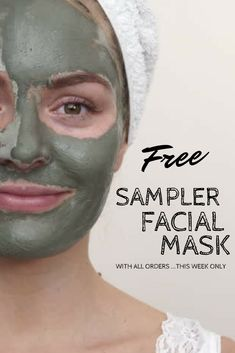 Get a free sample clay mask with every online order. While Supplies Last Organic Skin Care, Natural Skin Care, Natural Beauty, Skin Care Regimen, Skin Care Tips, Acne Oil, Charcoal Face Mask, Scaly Skin, Dry Skin Remedies