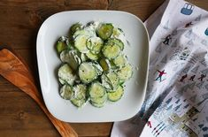 We have the simplest Christmas imaginable, no turkey, no plum pudding. The secret to a Happy Christmas is simplicity, and this cucumber salad is the epitome of that!