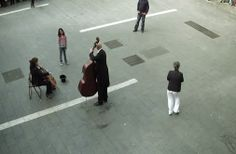 A Little Girl Gives Coins To A Street Musician And Gets The Best Surprise In Return :) ----  The orchestra equivalent of a flash mob!   http://www.bancsabadell.tv/eventos/cultura/