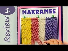 ▶ Old German Magazine about Macrame / Review - YouTube