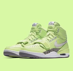ab8d1d8235bb Air Jordan Legacy 312 Ghost Green Release Date - Sneaker Bar Detroit